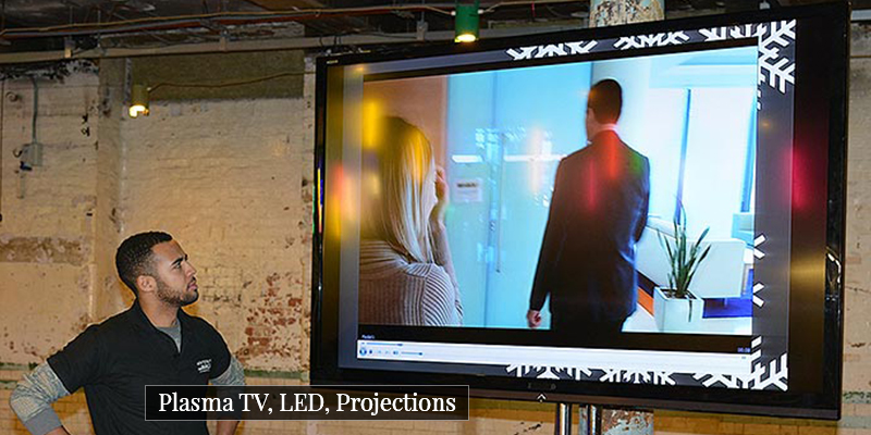 led tv and projectors for hire in chennai
